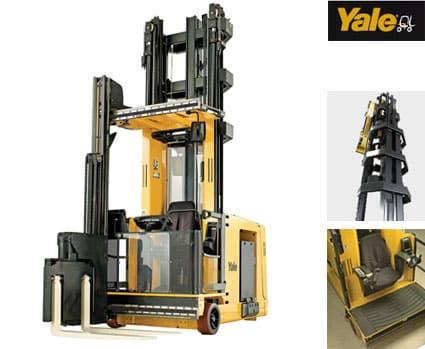 Carrello elevatore trilaterale Yale Serie MTC