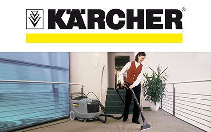 Lavasuperfici tessili Karcher • Pulizia Industriale