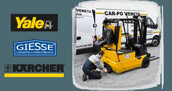 Assistenza Carrelli Elevatori Vicenza
